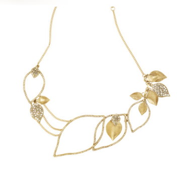 chloe-and-isabel-gold-leaf-statement-necklace